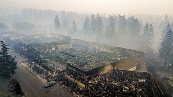 Catastrofe di fuoco in California: oltre 600 dispersi