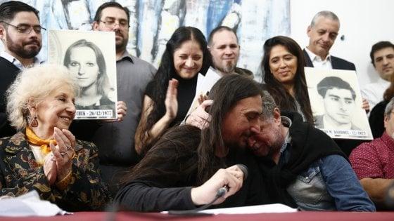 Argentina: Javier, figlio di desaparecidos, ritrova suo zio dopo 40 anni