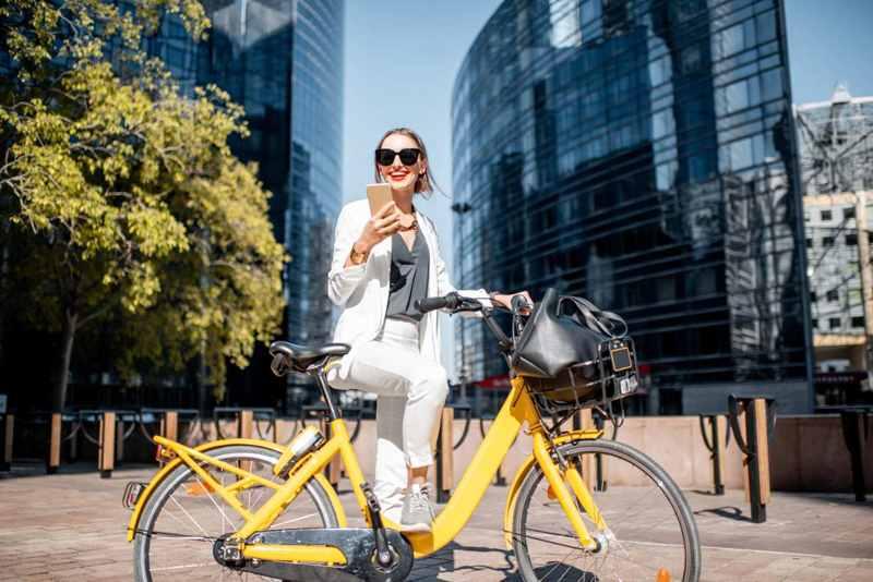 andare in bici al lavoro