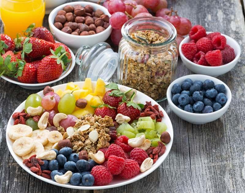 colazione frutta